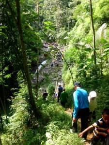 jembatan bambu curug siklothok - kurwinda kristi