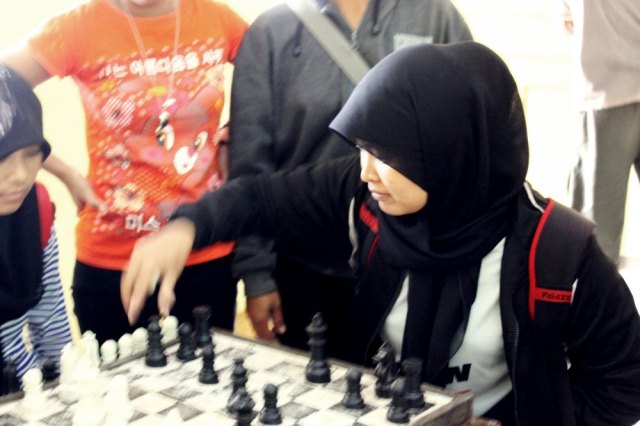 latihan catur